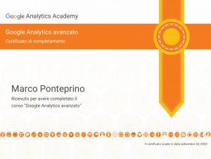 Google Analytics Avanzato