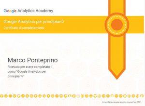 Google Analytics per principianti